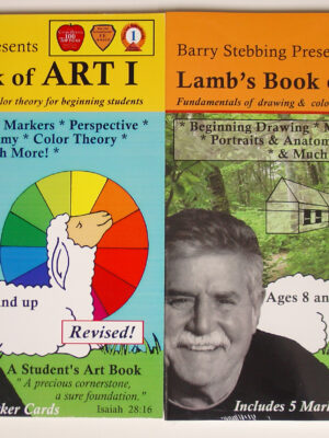 Lamb's Book of Art I and II - Drawing & Color Theory - One year each